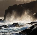 Free Photo - Large waves crashing on shoreline