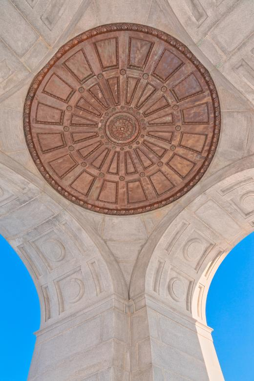 Free Stock Photo of Pennsylvania State Memorial Ceiling - HDR Created by Nicolas Raymond