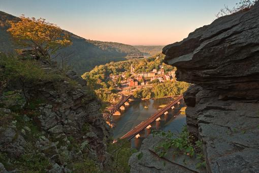 Harpers Ferry Overlook - HDR - Free Stock Photo