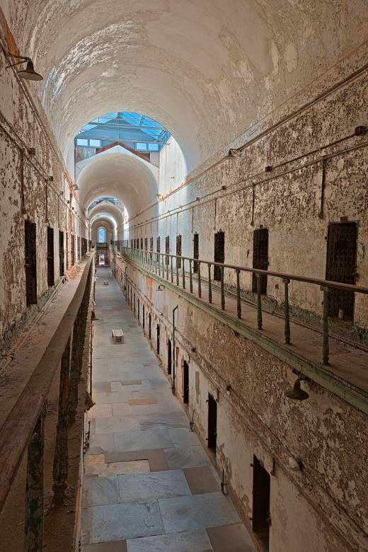 Free Stock Photo of Prison Corridor - HDR Created by Nicolas Raymond
