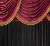 Free Photo - Velvet Stage Curtain