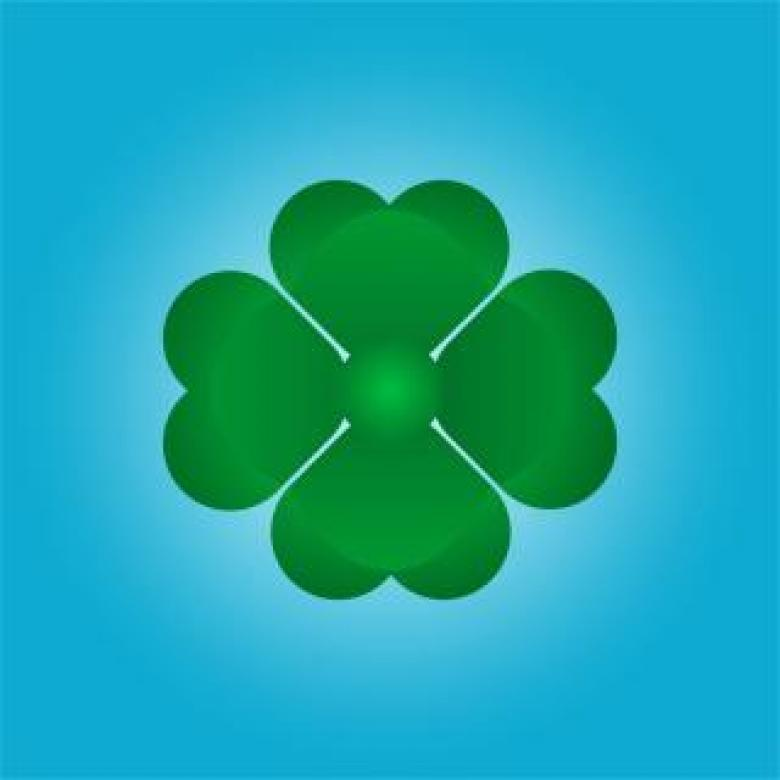 Free Stock Photo of Lucky charm leaf Created by Ronny Overhate