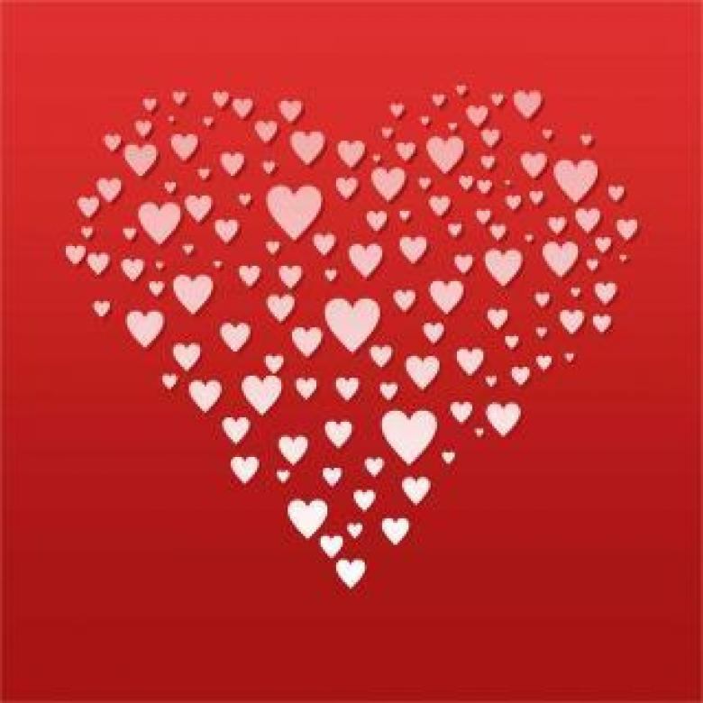 Free Stock Photo of Hearts Created by Ronny Overhate