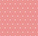 Free Photo - Heart seamless vector pattern