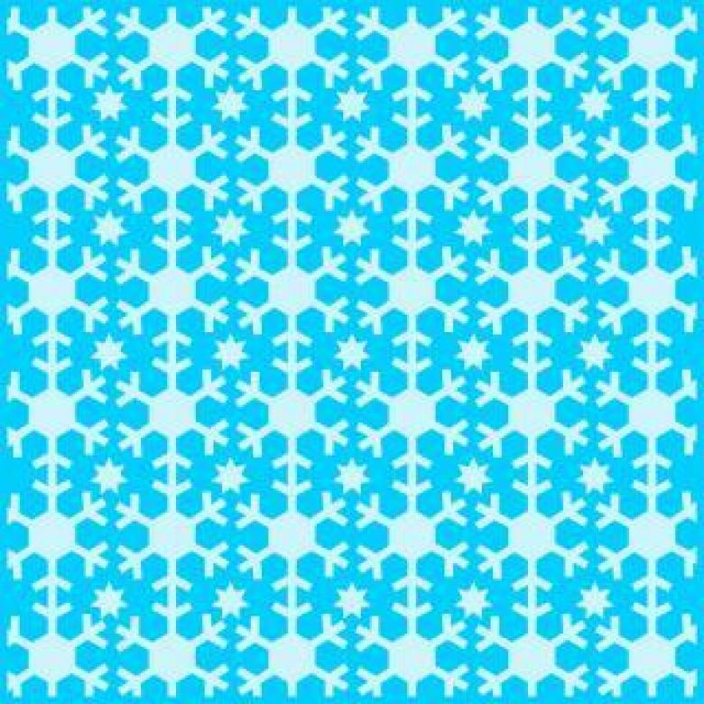 Free Stock Photo of Snowflakes vector pattern Created by Ronny Overhate