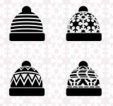 Free Photo - Winter hat set
