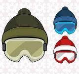 Free Photo - Winter  sport hat with google
