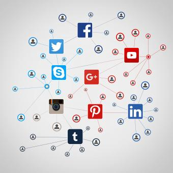 Many people going social on the major social media networks - Free Stock Photo