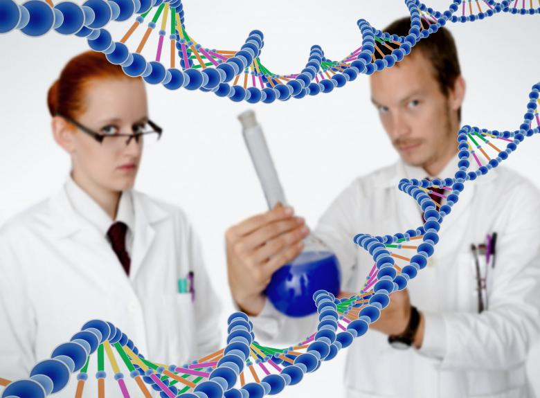 Free Stock Photo of Medical Doctors Performing DNA Analysis Created by Jack Moreh