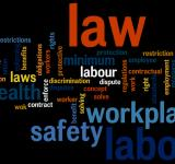 Free Photo -  Labor law wordcloud