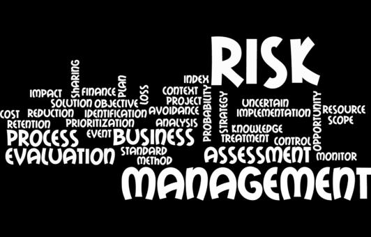 Risk management wordcloud - Free Stock Photo
