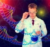 Free Photo - Medical Doctor Performing DNA Analysis and Sequencing - Illustration