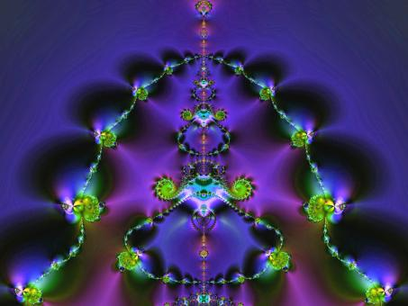 Jewel Fractal - Free Stock Photo