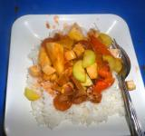 Free Photo - Vegetarian sweet and sour Thai dish