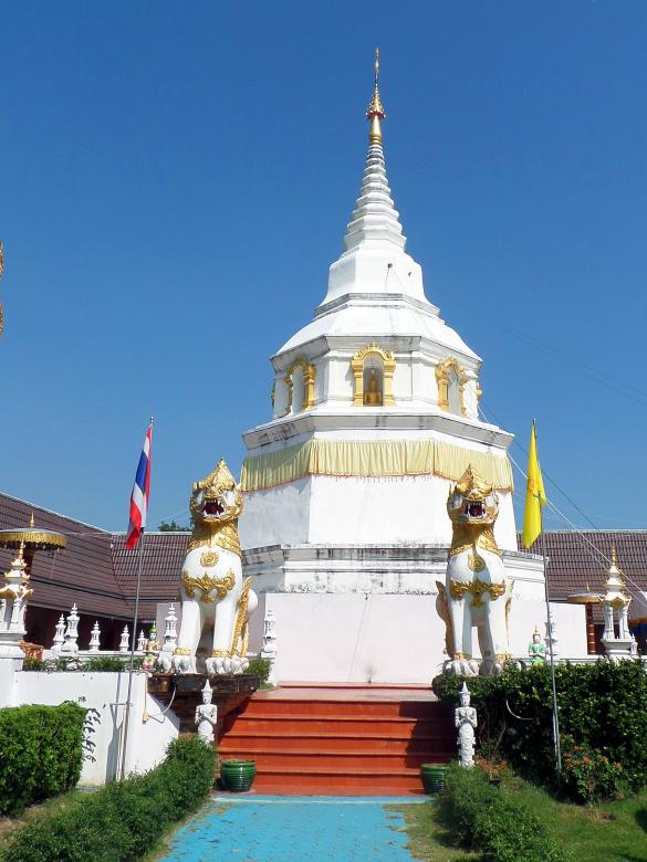 Free Stock Photo of Thai Buddhist Pagoda Created by Chas Mac