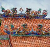 Free Photo - Chinese temple roof detail
