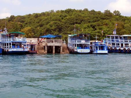 Samet Island Ferries - Free Stock Photo