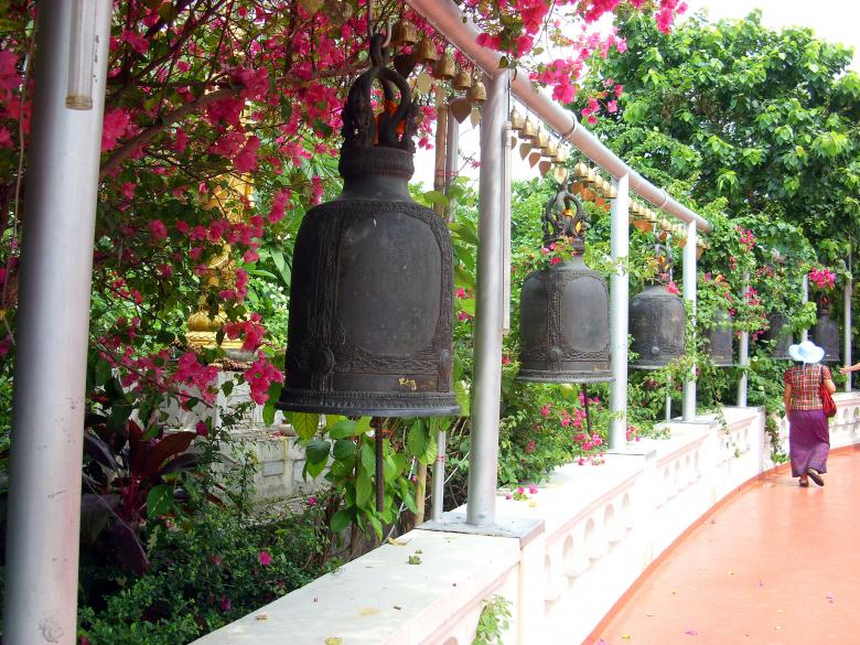 Free Stock Photo of Buddhist Temple Bells Created by Chas Mac