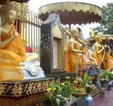 Free Photo - Buddha statues at Thai Buddhist Temple
