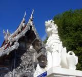 Free Photo - Lion and Buddhist temple