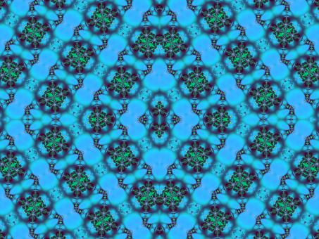 Fractal Tile Pattern - Free Stock Photo