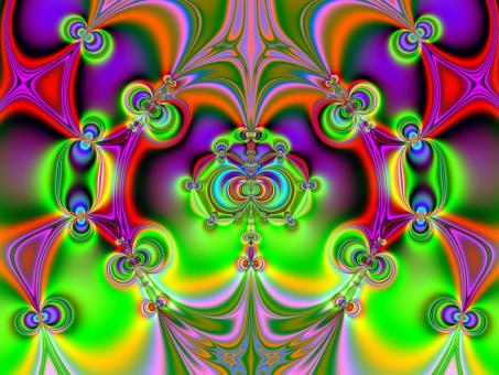 N-Set Lyapunov Fractal - Free Stock Photo