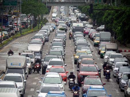 Bangkok traffic jam - Free Stock Photo