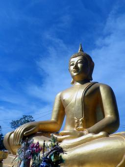 Buddha - Kukasingh Temple, Thailand - Free Stock Photo