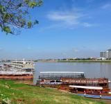 Free Photo - Mekong River cruise boats