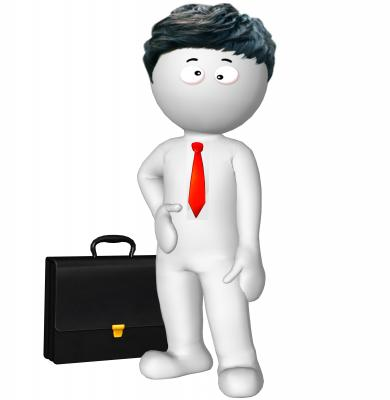 3d rendered business man illustration - Free Stock Photo