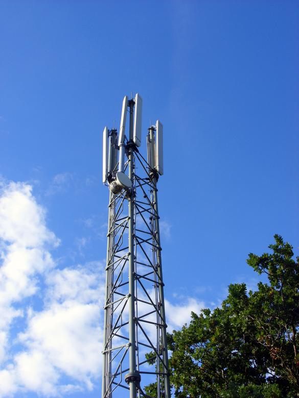 Free Stock Photo of Mobile phone mast Created by Chas Mac