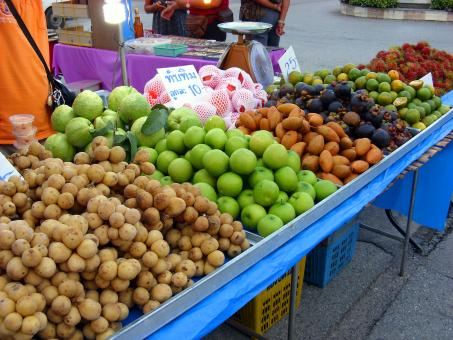 Tropical Fruits stall - Free Stock Photo