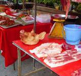Free Photo - Thai meat stall