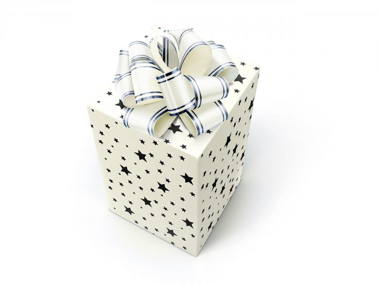 Free Stock Photo of White gift box Created by 2happy