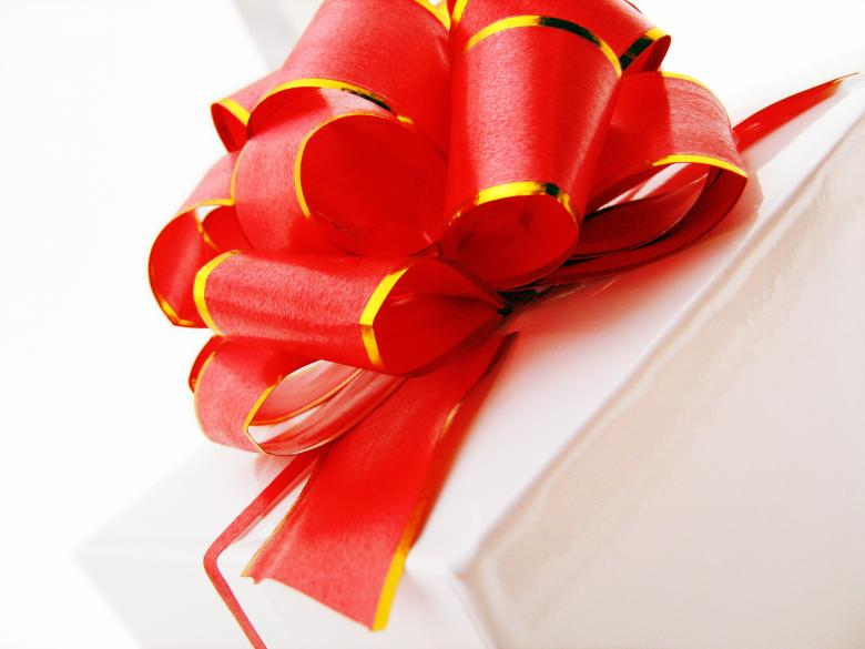 Free Stock Photo of Gift box bow Created by 2happy