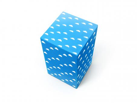 Blue box - Free Stock Photo