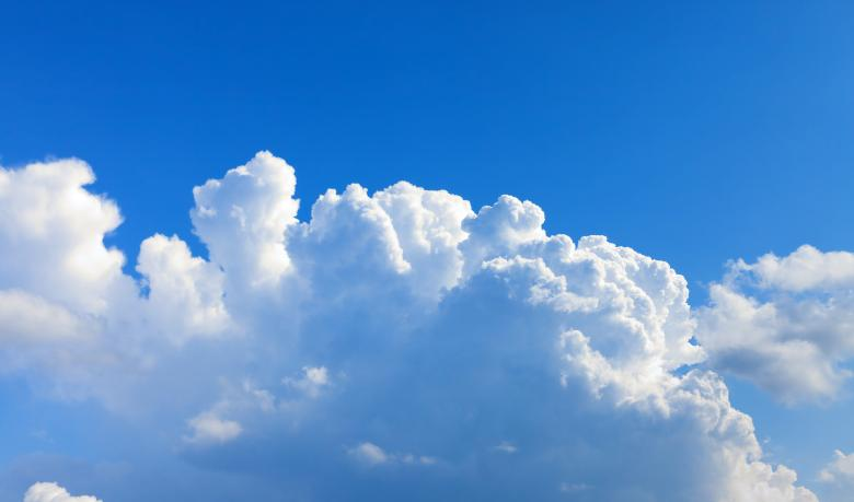 Free stock image of Blue cloudy sky created by 2happy