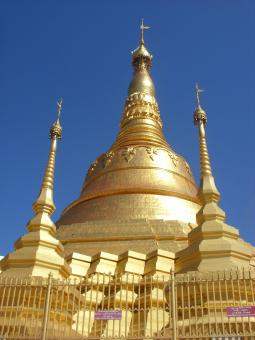 Shwe Dagon Pagoda Tachileik - Free Stock Photo