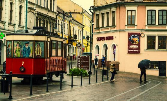 Replica tram Sanok SW1   - Free Stock Photo