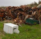 Free Photo - waste disposal site