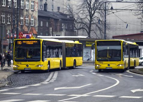 Bus in Katowice - Free Stock Photo