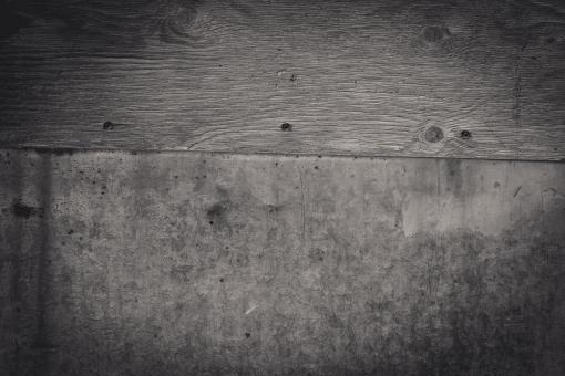 Black & White Wood and Metal Texture - Free Stock Photo