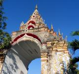 Free Photo - Wat Nantaram Buddhist Temple gate