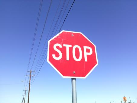 Just Stop - Free Stock Photo