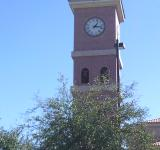 Free Photo - Brick clock tower