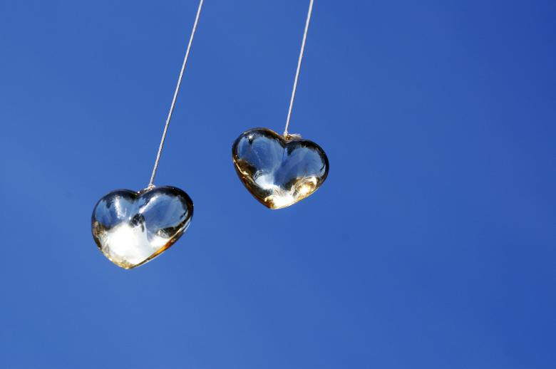 Free Stock Photo of Two hearts Created by IndianSummer