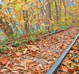 Free Photo - Abandoned Autumn Railroad - HDR