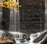 Free Photo - Rock Wall Autumn Falls