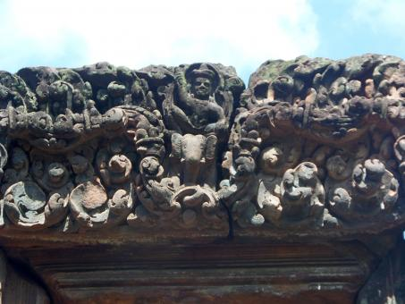 Ancient Hindu temple carvings - Free Stock Photo