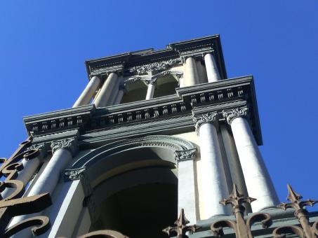 Bell tower Mexican baroque - Free Stock Photo